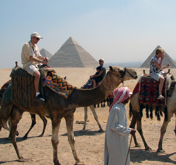 Even if you agree on a price before hand, some camel guys will demand extra money to let you off the camel. This is one of many reasons why a guide is highly recommended.