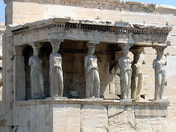 Erechtheum Temple, Athens Acropolis