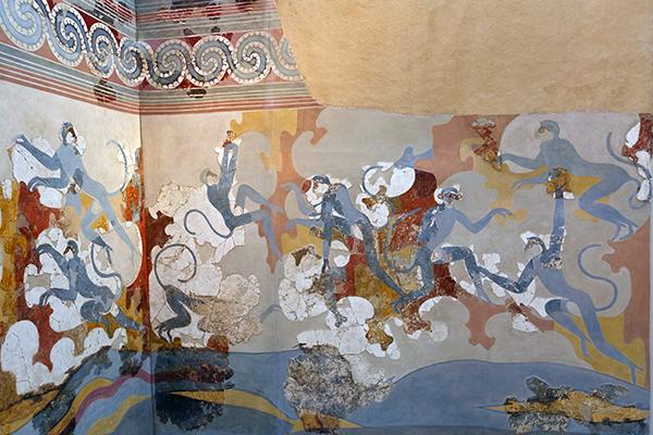 Akrotiri fresco