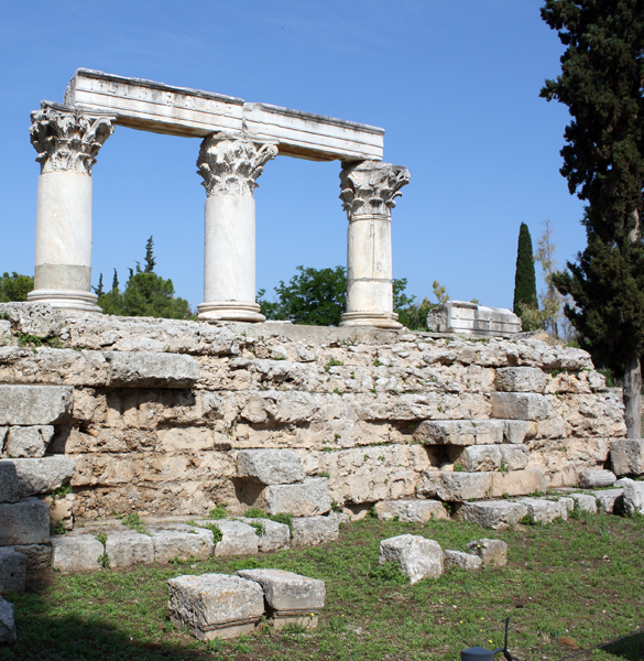 Octavia Temple, Corinth