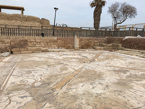 Caesarea, taken by our Jane Vermeulen while escorting our 2018 fam group