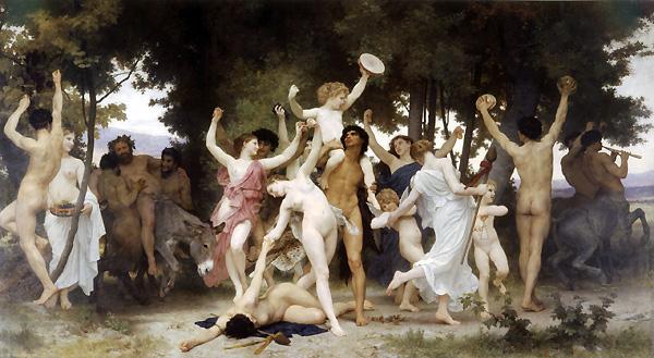 La Jeunesse de Bacchus, William Bouguereau (the Youth of Bacchus, Bacchus is the Roman name for Dionysus